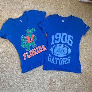 Florida Gators UF 🐊 Soffe 100% cotton v-neck tees